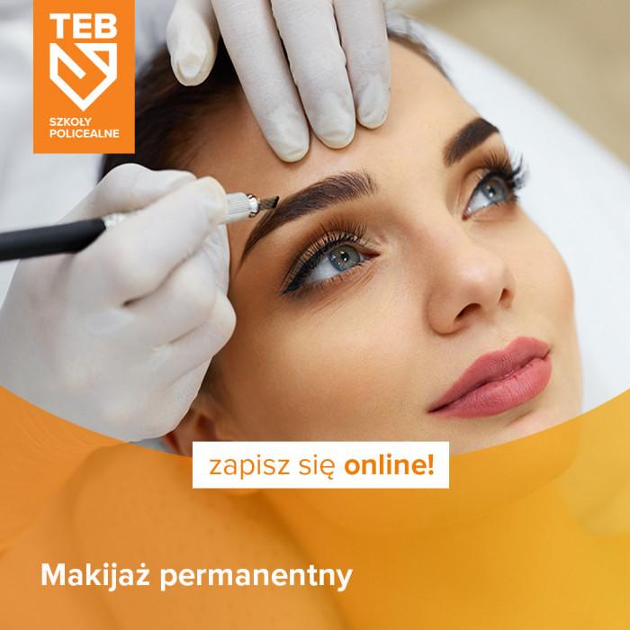 Makijaż permanentny w TEB Edukacja w Gdyni