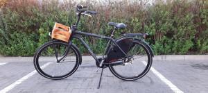 Rower HolenderskI Batavus Quip N3 Czarny Mat
