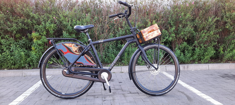 Rower HolenderskI Batavus Quip N3 Czarny Mat: zdjęcie 87098388