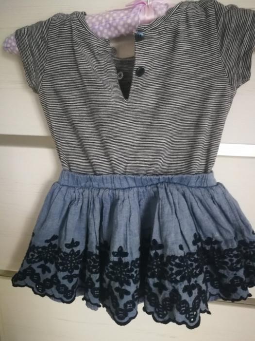 Śliczna sukienka Next 6-9 mies.: zdjęcie 87219631