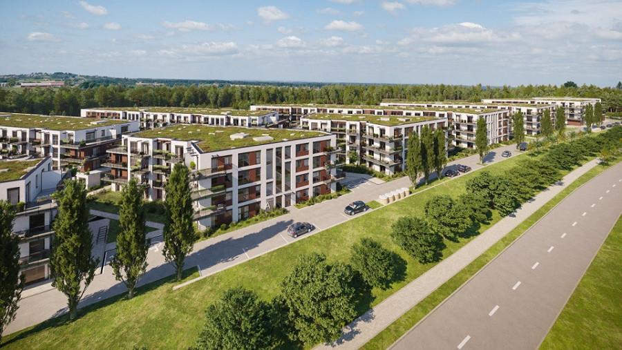 Pruszcz Park 1.B.15 - mieszkanie 2-pokojowe z dwoma balkonami: zdjęcie 87493349