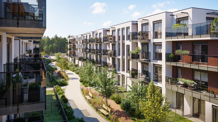 Pruszcz Park 1.B.15 - mieszkanie 2-pokojowe z dwoma balkonami: zdjęcie 87493350