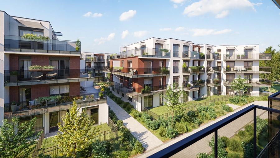 Pruszcz Park 1.B.15 - mieszkanie 2-pokojowe z dwoma balkonami: zdjęcie 87493351