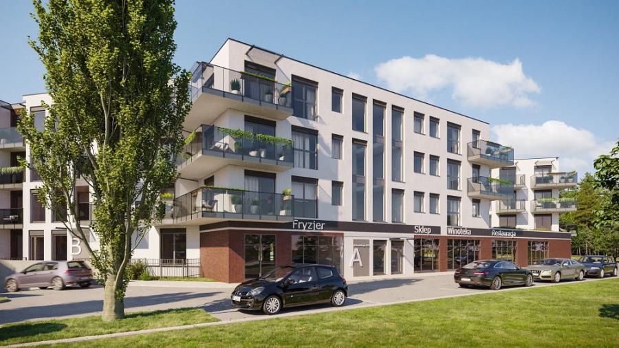 Pruszcz Park 1.B.15 - mieszkanie 2-pokojowe z dwoma balkonami: zdjęcie 87493353