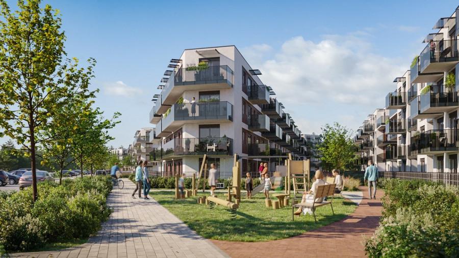 Pruszcz Park 0.B.1 - mieszkanie 2-pokojowe z ogródkiem na parterze: zdjęcie 87493376