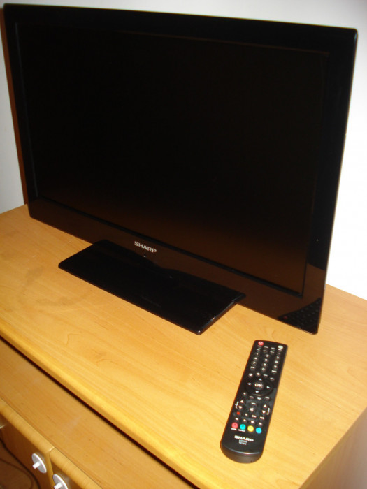 """Sharp LC-24LE510E TV 24"""" LED (60cm przekątna) uszkodzony.: zdjęcie 87279349"""