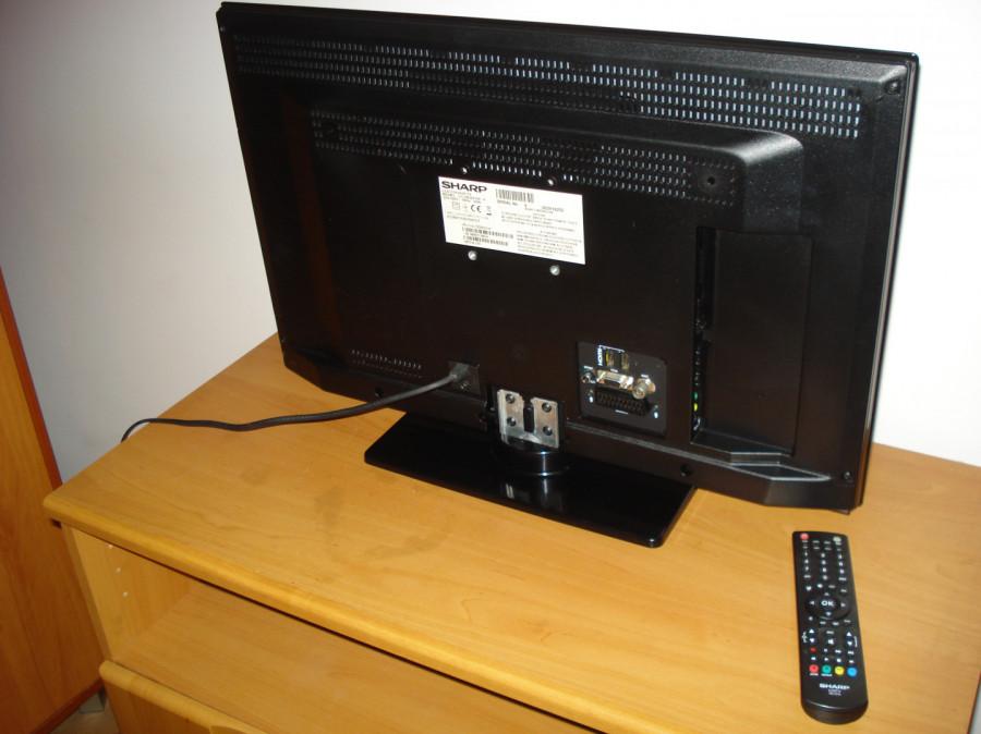 """Sharp LC-24LE510E TV 24"""" LED (60cm przekątna) uszkodzony.: zdjęcie 87279350"""