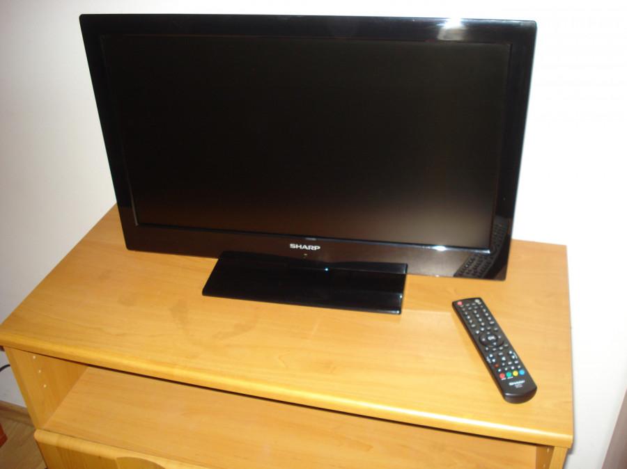 """Sharp LC-24LE510E TV 24"""" LED (60cm przekątna) uszkodzony.: zdjęcie 87279353"""