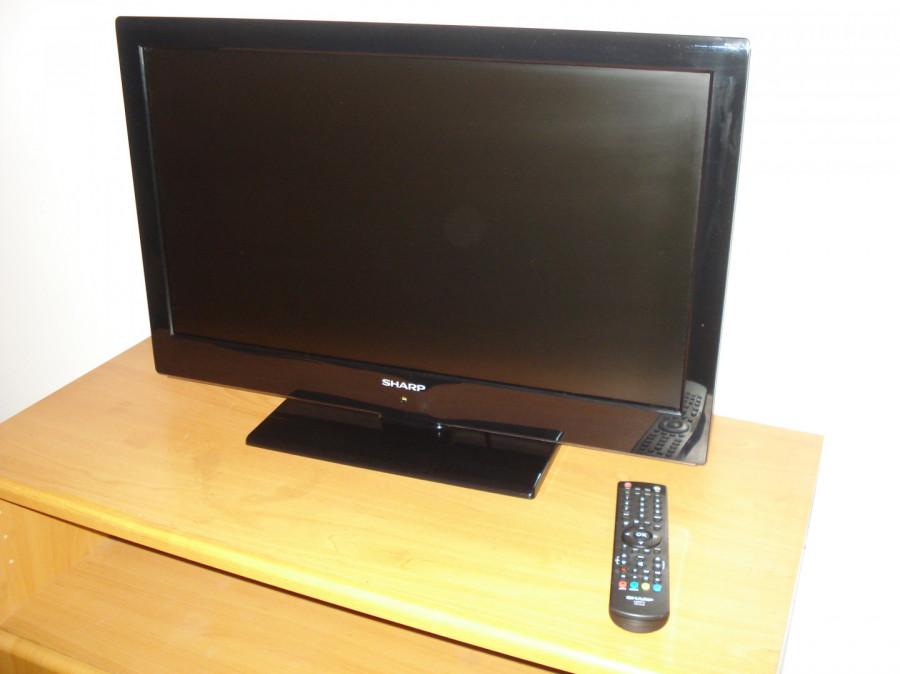 """Sharp LC-24LE510E TV 24"""" LED (60cm przekątna) uszkodzony.: zdjęcie 87279356"""