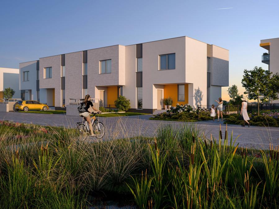 INPRO S.A. - NOWOŚĆ!! - OPTIMA - dom 6-pok. 134.77 m2 każdy dom w ramach osiedla optima zadanie vi to niezależna nieruchomość wraz z własną działką z wyodrębnioną księgą wieczystą., duży ogródek, gabinet lub pokój do nauki zdalnej: zdjęcie 87438468