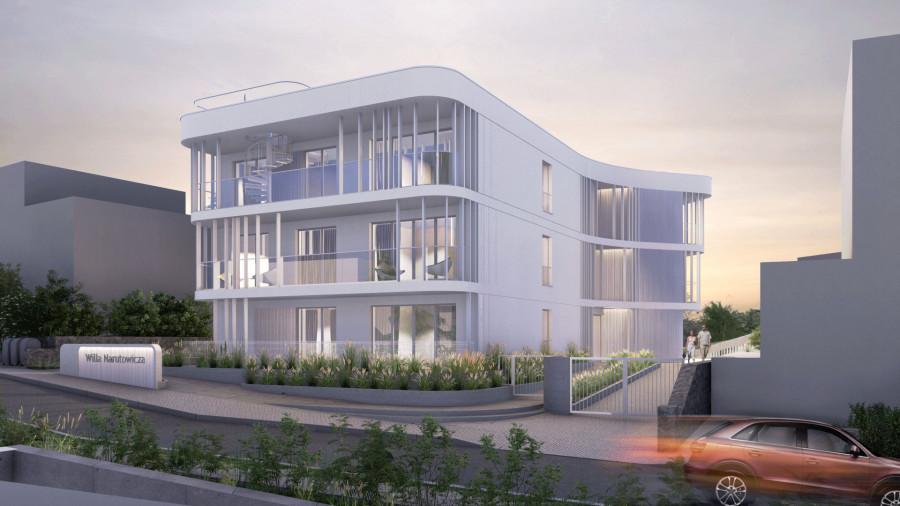 Willa Narutowicza M10- apartament z widokiem na panoramę Gdyni