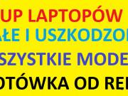 SKUP laptopów i komputerów z dojazdem, każdy stan, Gdynia, Sopot, Gdańsk, Rumia, Reda, Wejherowo i okolice.