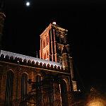 Kościół mariacki w zimie