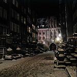 Ulica Mariacka zimą