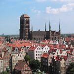 Panorama gdańskiego Głownego Miasta