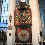 Zegar w Kościele Mariackim