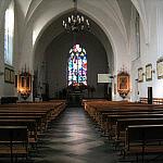 Wnętrze Kościoła Św. Elżbiety
