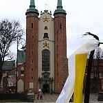 Oliwska Katedra w żałobie