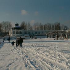 Państwowa Galeria Sztuki zimą