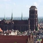 Widok na kościół Mariacki