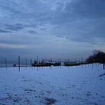 Sopot plaża zimą