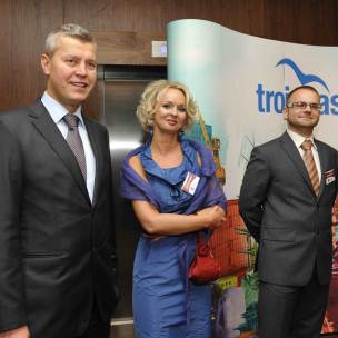 Michał Kaczorowski, Agnieszka Bomba oraz Michał Stąporek