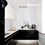 kuchnia czarno-biała