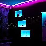 Oświetlenie RGB salonu – taśma RGB – www.sellneo.pl