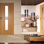 Drzwi Porta Styl , Model 1 , Okleina : Portasynchro Akacja Miodowa