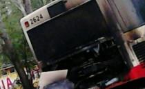 Żabianka pożar autobusu 148
