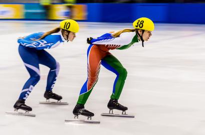 50 km/h na łyżwach w short tracku
