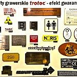Laminaty grawerskie