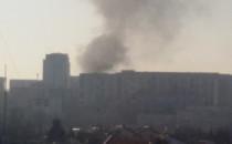 Pożar na Podkarpackiej w Gdańsku