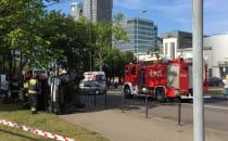 Groźny wypadek przy Skwerze Kościuszki