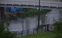 Ulica Lenartowicza pod wodą