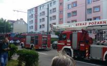 Pożar przy ul. Chylońskiej