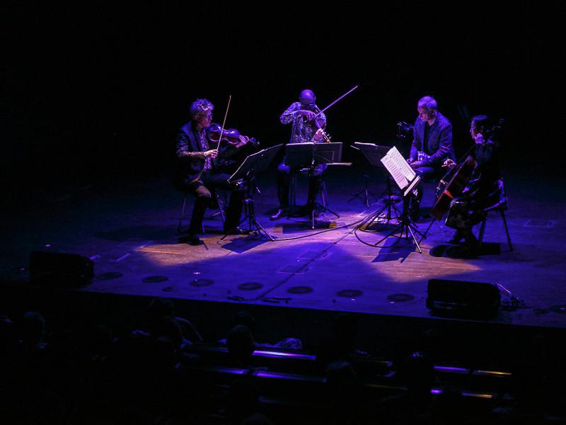 Kronos Quartet na zakończenie Solidarity of Arts