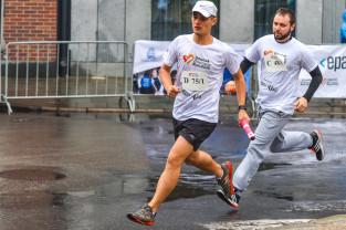Prawie 70 sztafet w charytatywnym Business Run