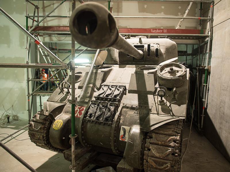 Budowa Muzeum II Wojny Światowej na ukończeniu