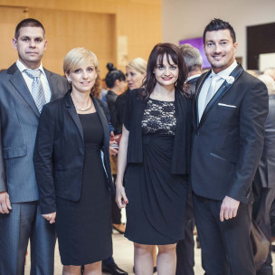 Marcin Dornowski, Anna Mrozińska, Dorota Koziok, Marek Ciemny
