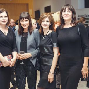 Marta Apanowicz, Agnieszka Popławska-Boruc, Alina Wabnic-Kamińska oraz Magdalena Jankowska