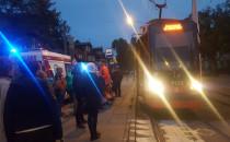 Mężczyzna zmarł w tramwaju