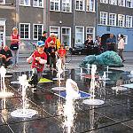 fontanna zabawy dzieci