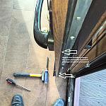 Naprawa drzwi przesuwnych