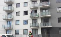 Zadymienie mieszkania na Morenie