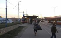Tramwaje już kursują w stronę Łostowic