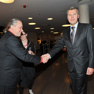 Andrzej Stelmasiewicz i Michał Kaczorowski