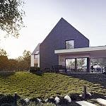 Projekt domu nad jeziorem