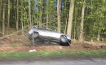 Wypadek na obwodnicy przed Osową