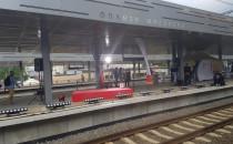 Jakaś szopka na przystanku Gdańsk Wrzeszcz